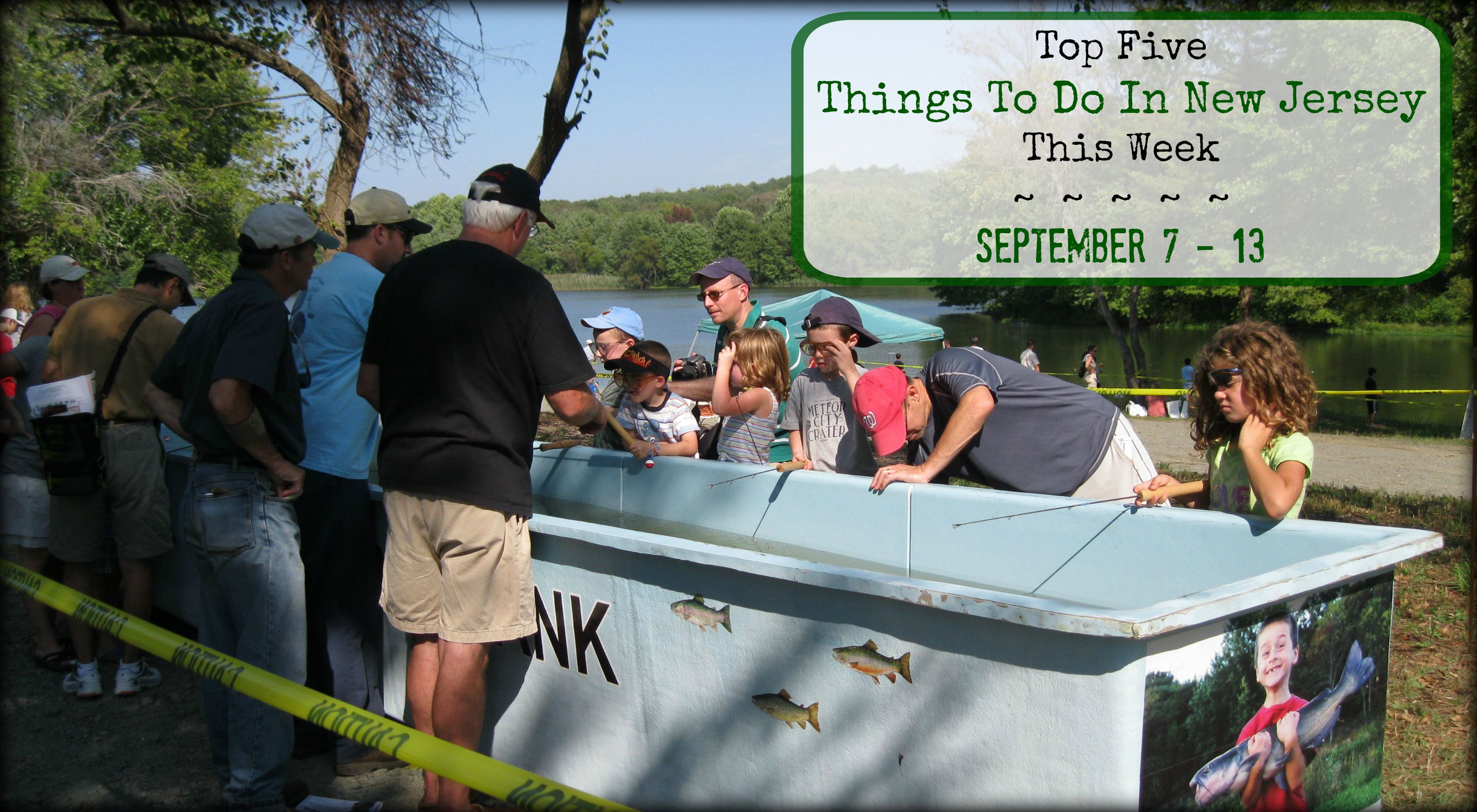 Top five things to do in new jersey this week september for Fishing expo nj