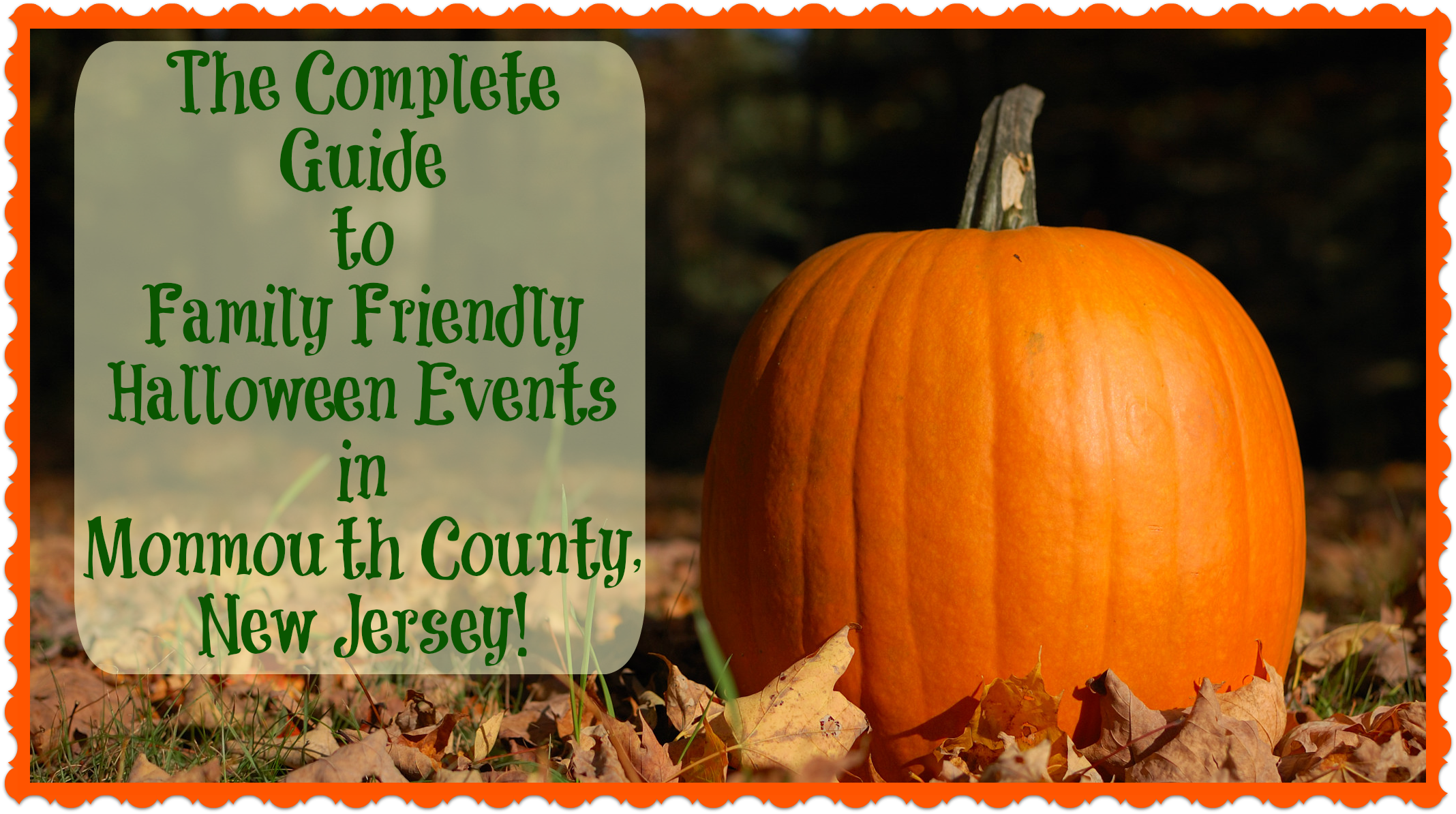 Monmouth County Halloween Events