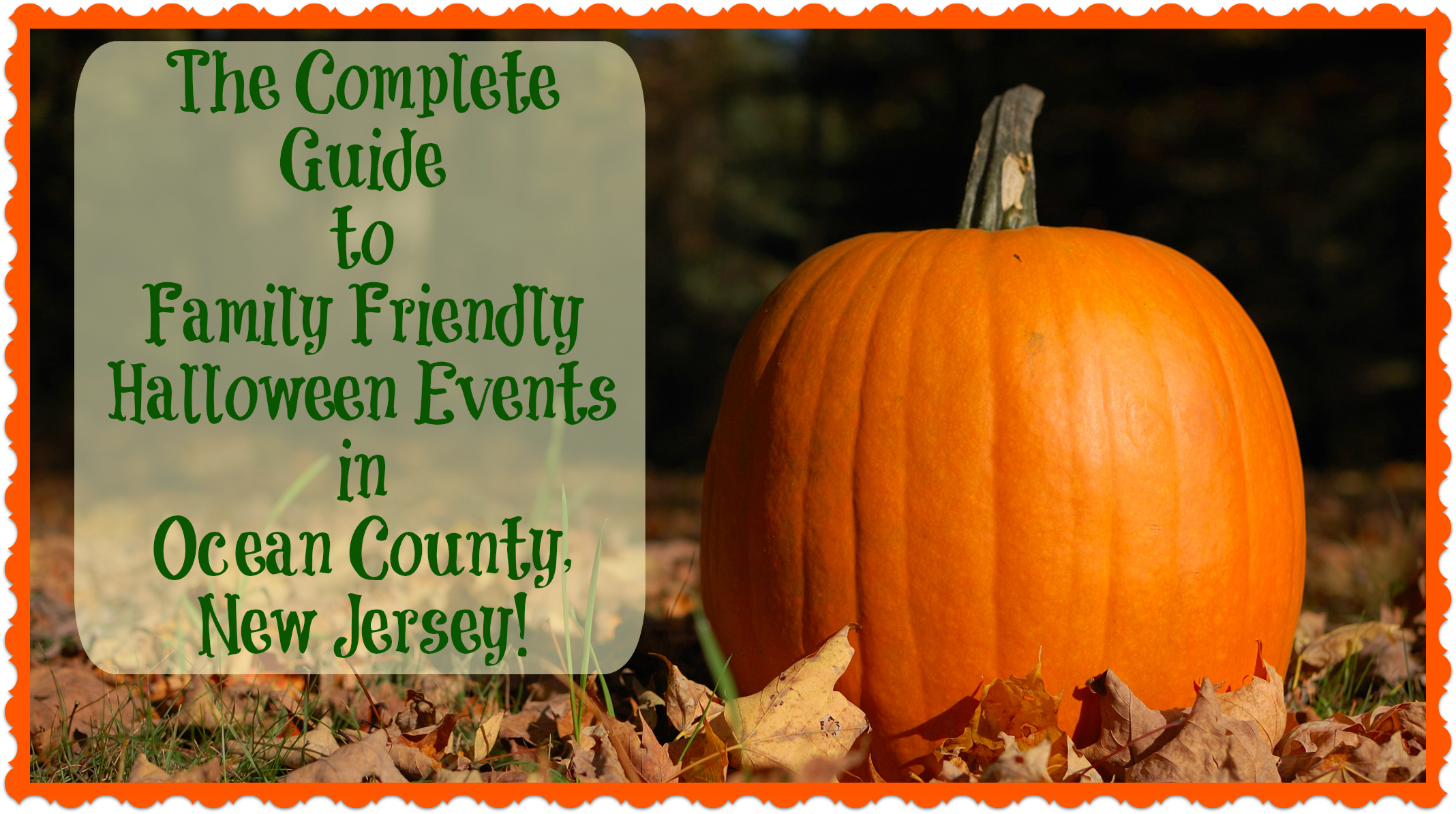 the complete guide to family friendly halloween events in ocean county nj things to do in new jersey - Halloween Stores In Toms River Nj