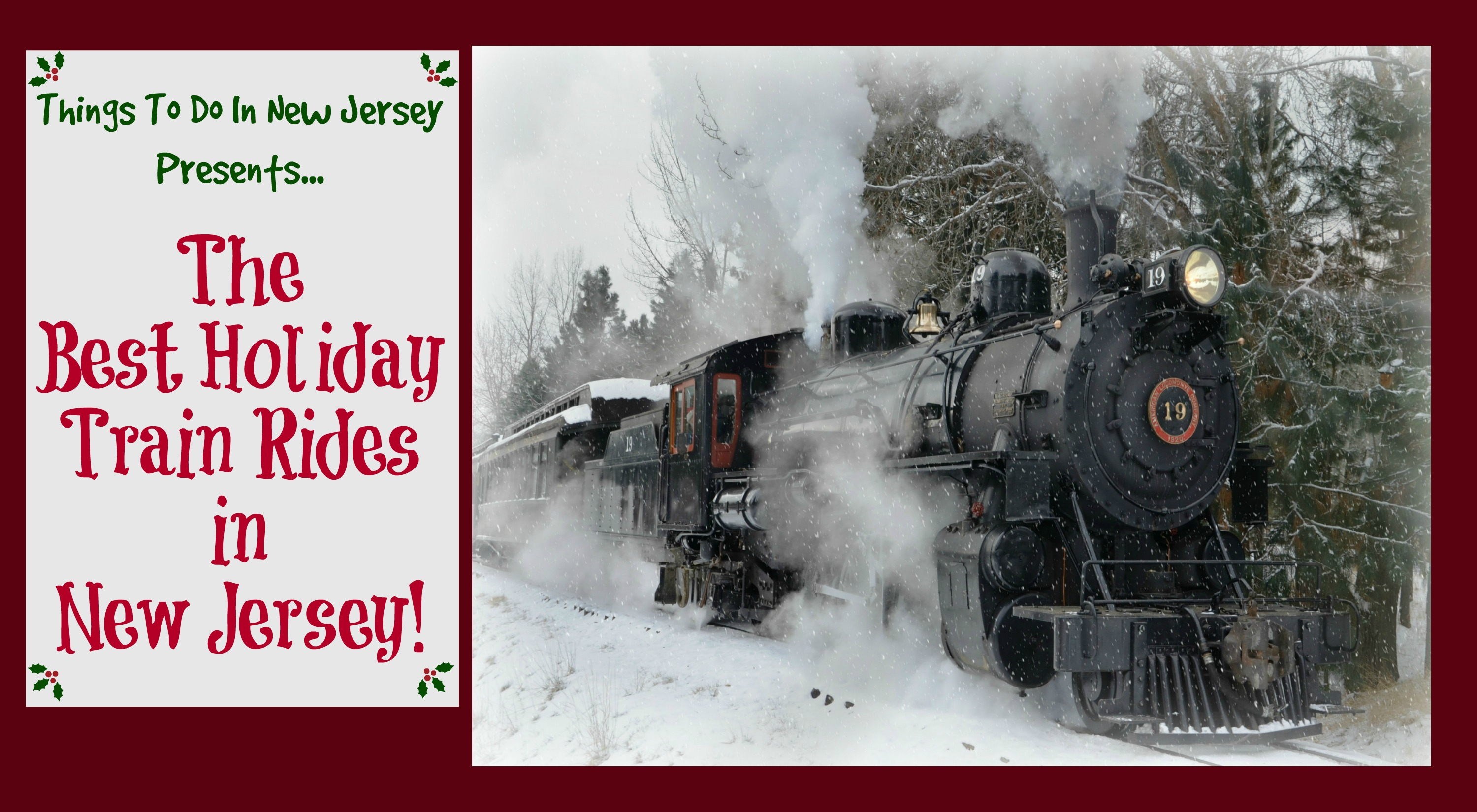 The Best Holiday Train Rides In New Jersey Things To Do