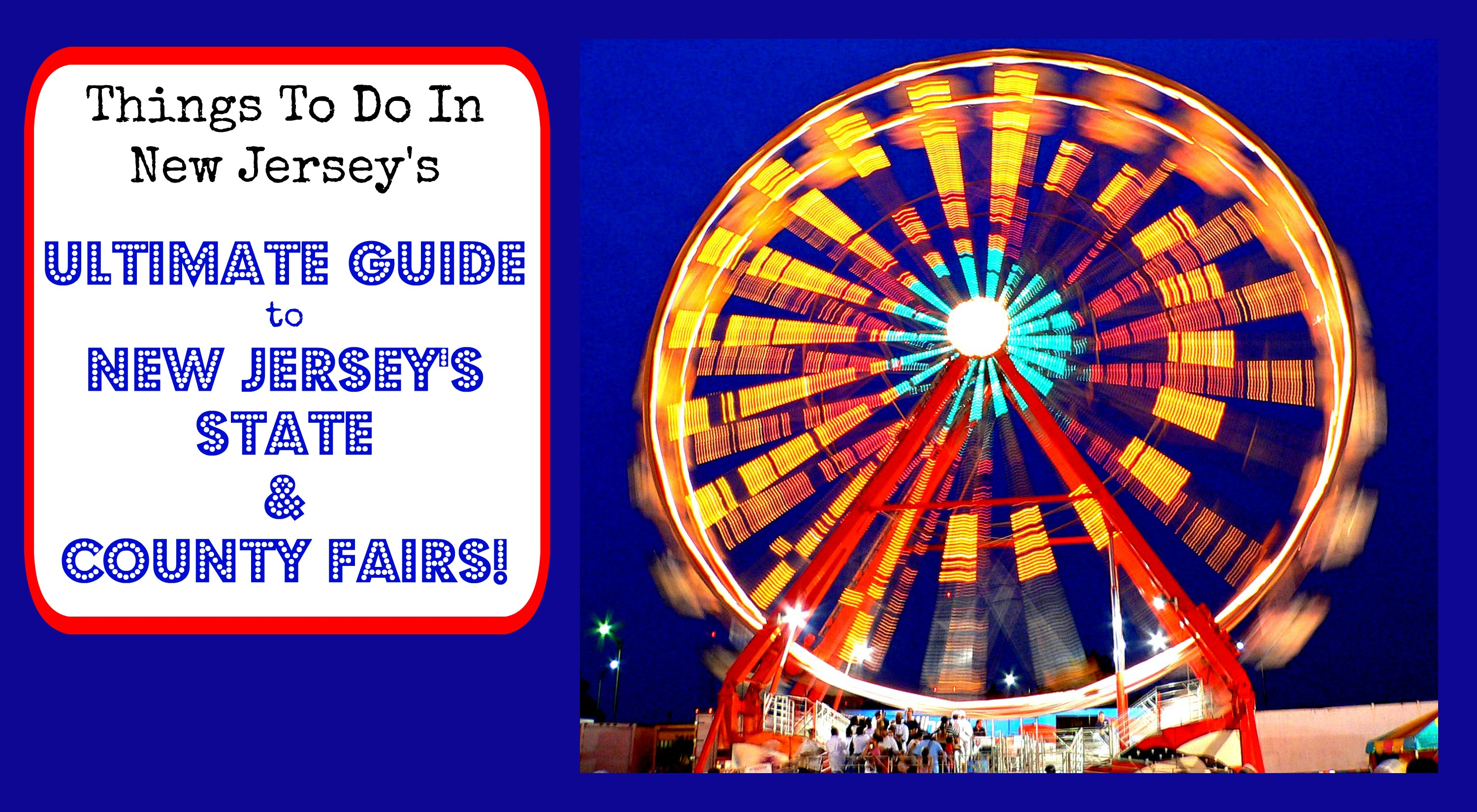 County Fairs In New Jersey