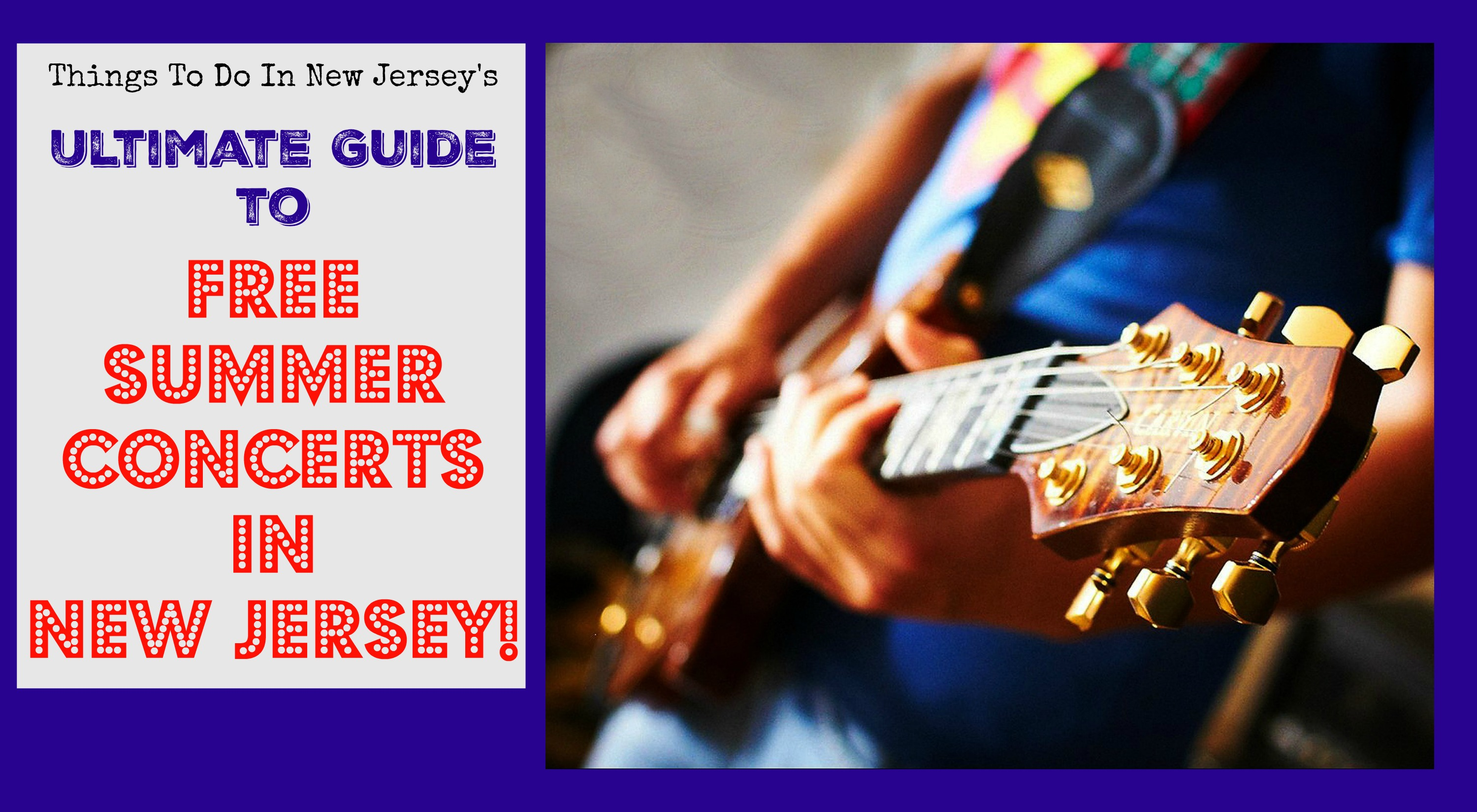 Free Summer Concerts In Nj